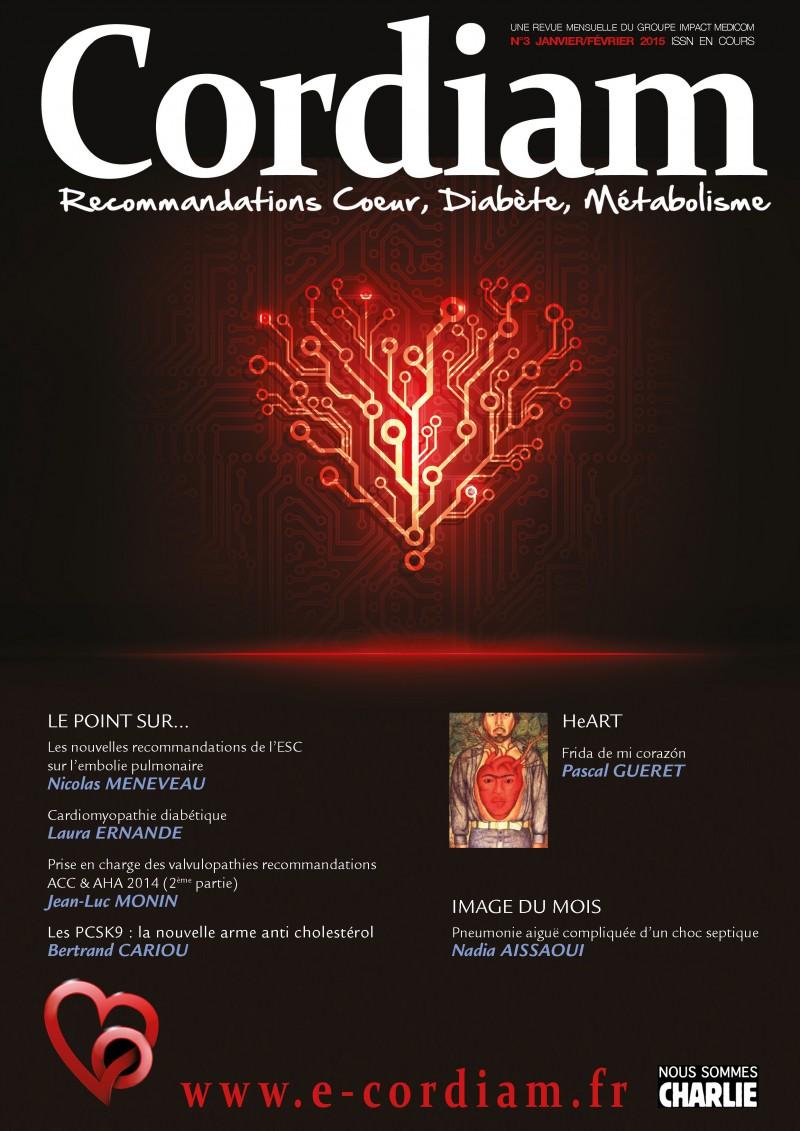 Couverture Revue Cordiam N°3
