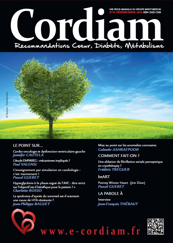 Couverture CORDIAM N°10