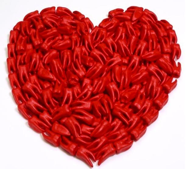 Herz mit Zähnen (Teeth heart)