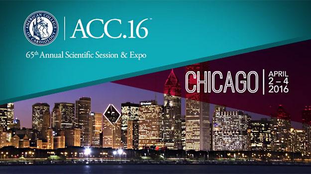 Logo du Congrès ACC 2016 (American College of Cardiology)