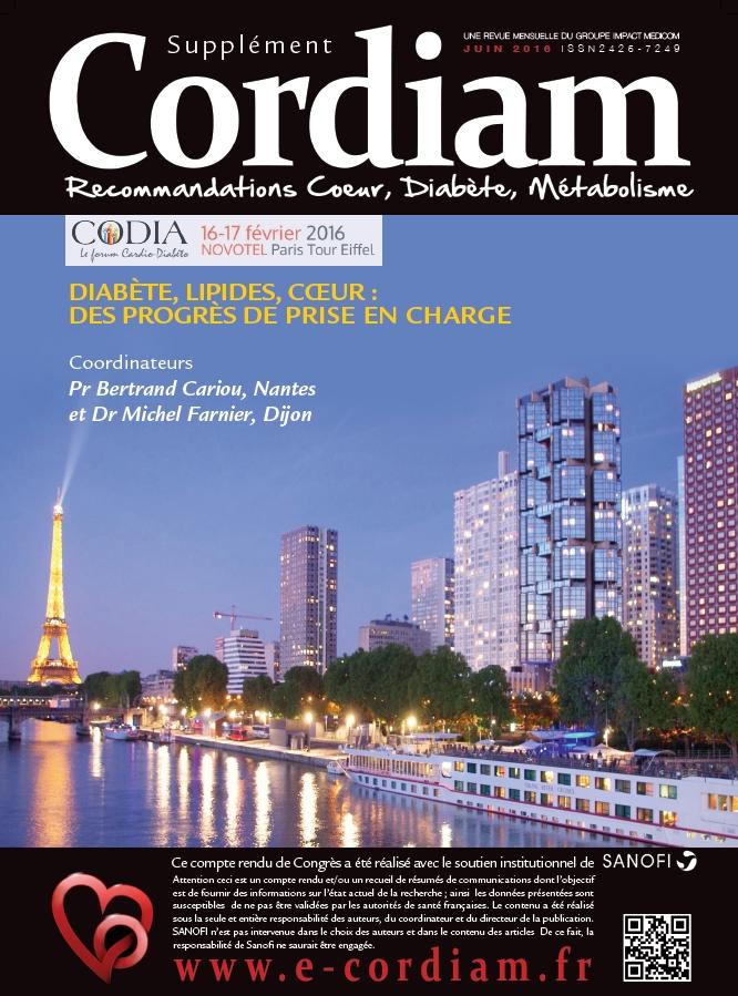 Couverture de la revue Cordiam dédiée au forum CODIA