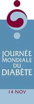 JOURNEE MONDIALE DU DIABETE
