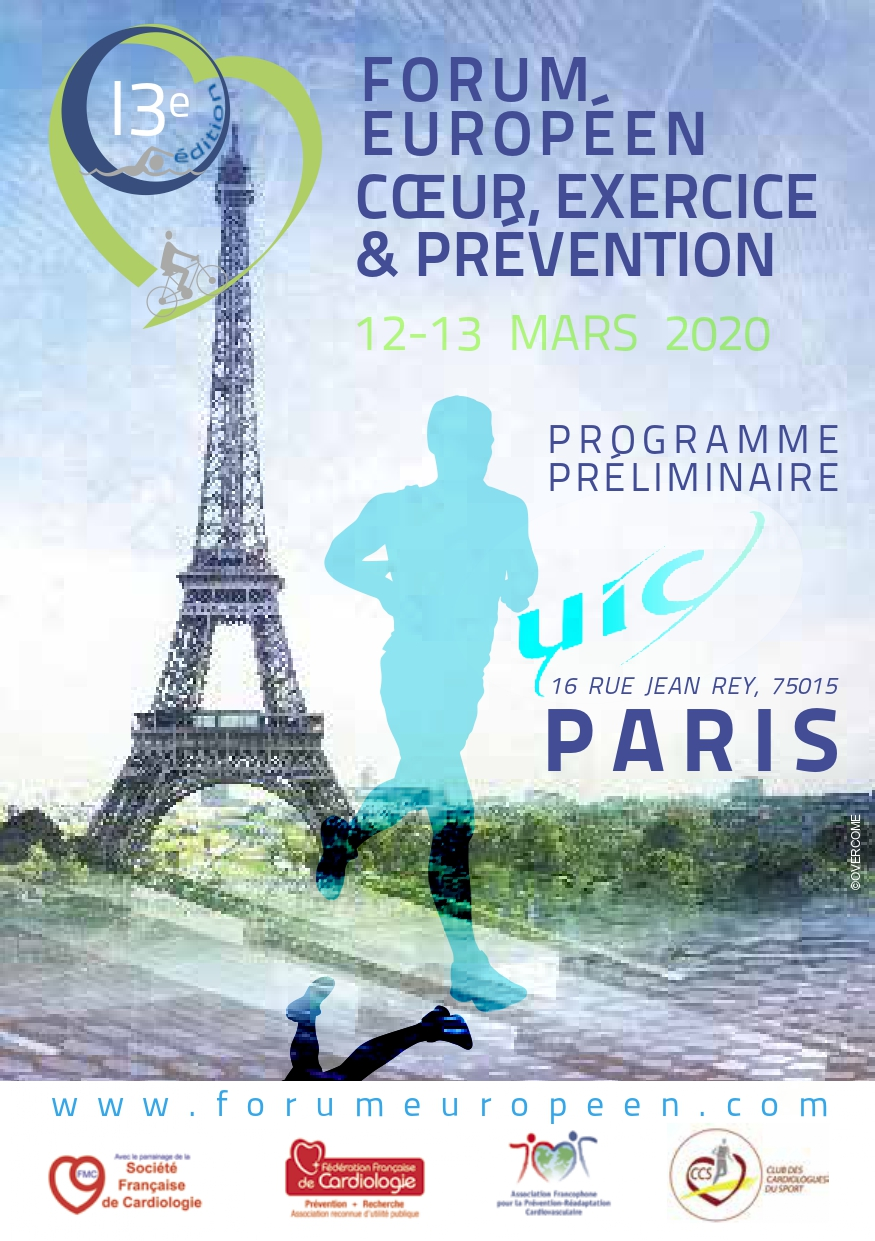13e forum européen Coeur Exercice et Prévention